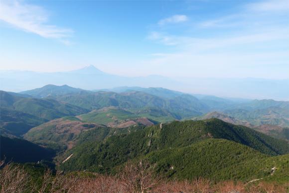 金峰山バリエーションルートチョキと八幡尾根