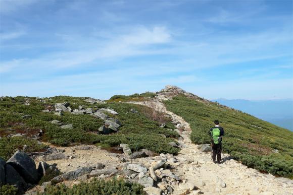 金峰山の頂上を徘徊