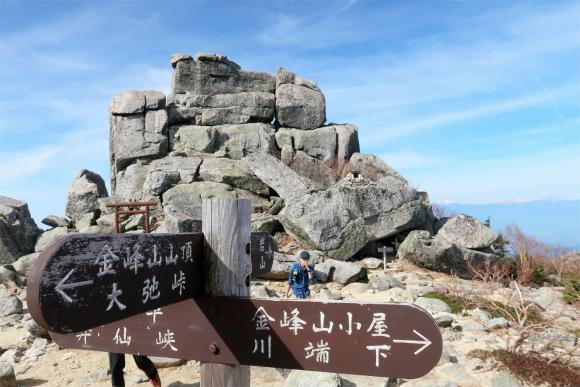 金峰山小屋ルート