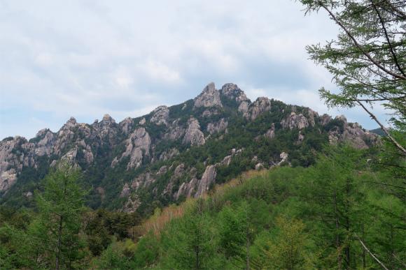 瑞牆山が綺麗に見えるポイント