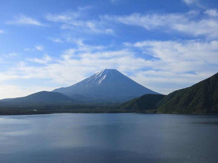 七面山富士山の景色