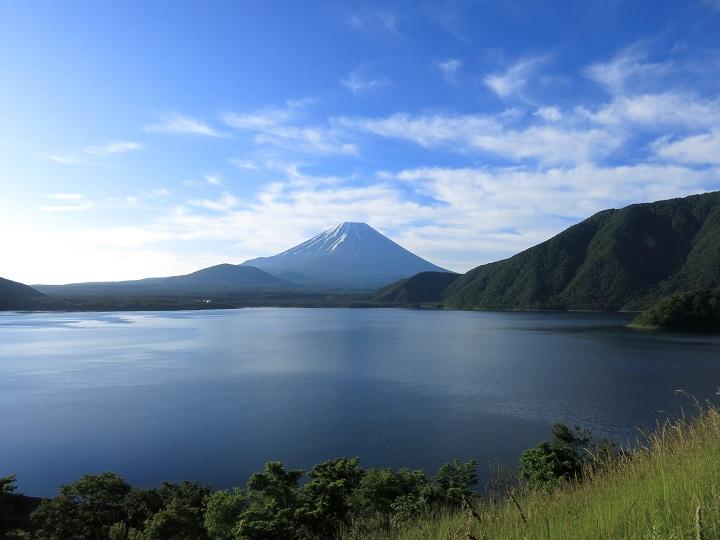 富士山本栖湖