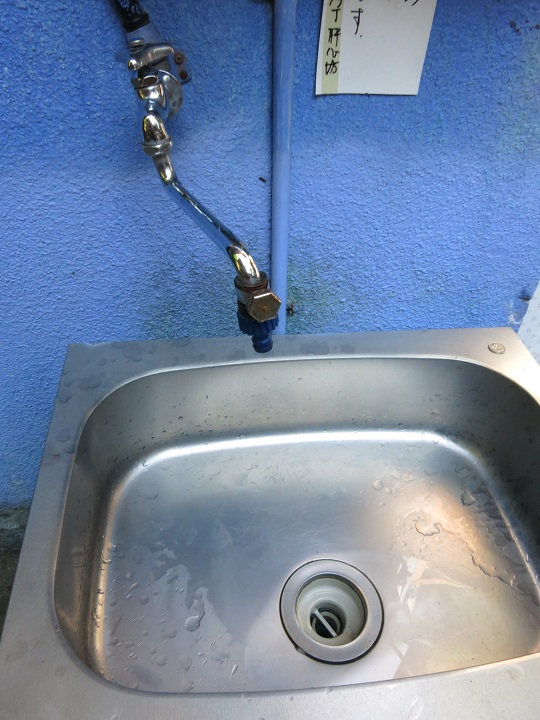 神力坊綺麗なトイレと水場