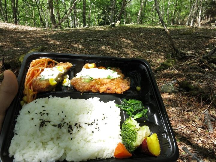 四ノ池昼食