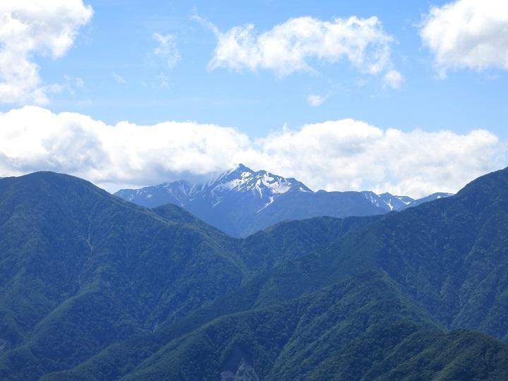 聖岳希望峰山並み