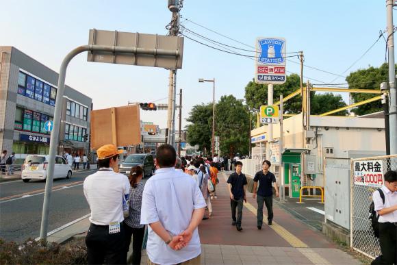 伊勢原駅、愛甲石田駅、本厚木でバスによる振り替え輸送