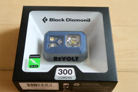 ブラックダイヤモンドヘッドライトレボルト(REVOLT)USB充電式