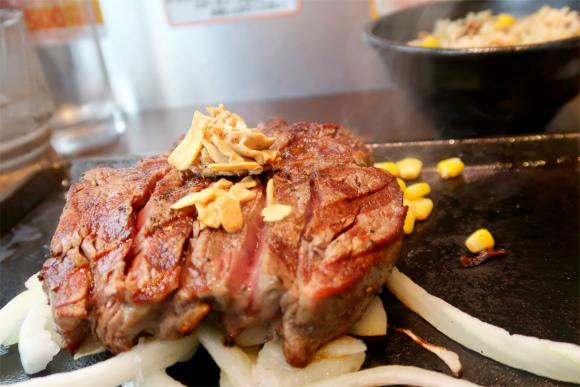 ヒレステーキお肉も柔らかく