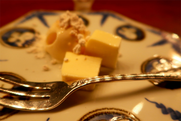 カフェ鈴木のチーズケーキ