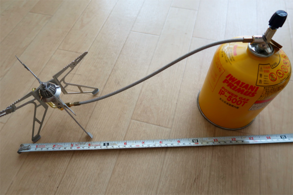 プリムスIP-500Tで距離を測る