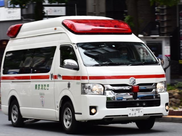 熱中症救急搬送救急車