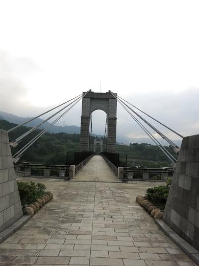 戸川公園吊橋