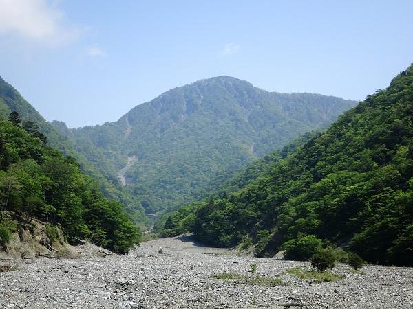 蛭ヶ岳南稜尾根