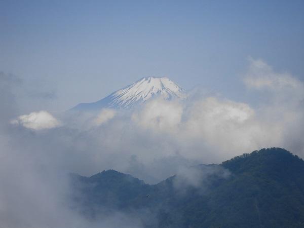 山飯と富士山