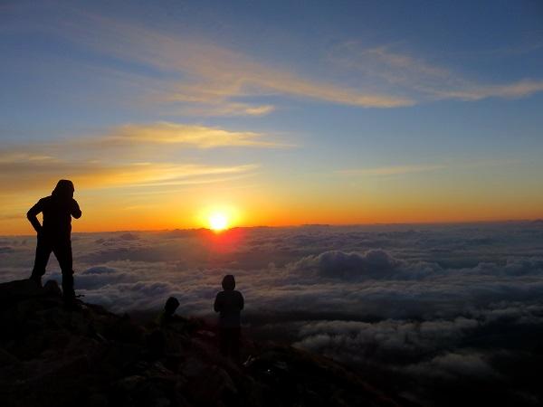 大台ヶ原登山と登山オフ会の様子