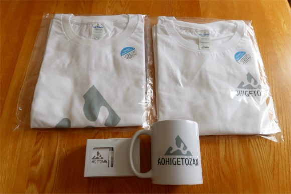ビスタプリントで印刷したTシャツ2枚とブロガー名刺、マグカップ