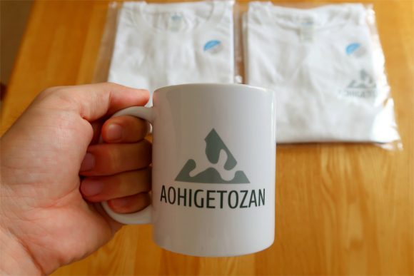 AOHIGETOZANマグカップ