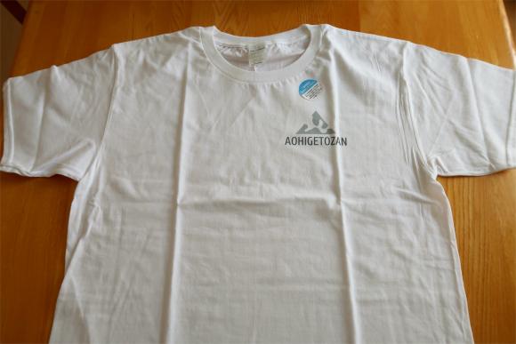 ショートバージョンのAOHIGETOZANTシャツ