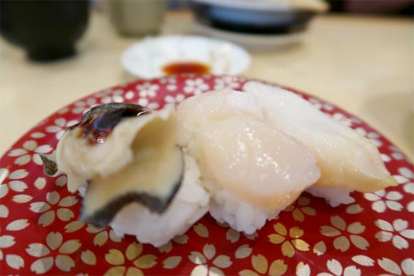 ホタテと赤貝の寿司