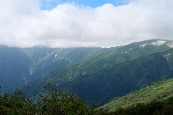 飯豊山最高峰の大日岳