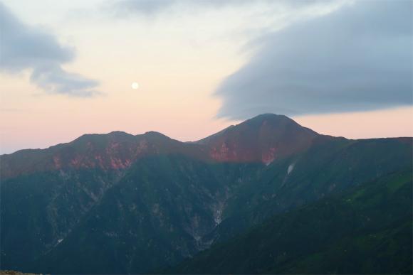 大日岳モルゲンロート
