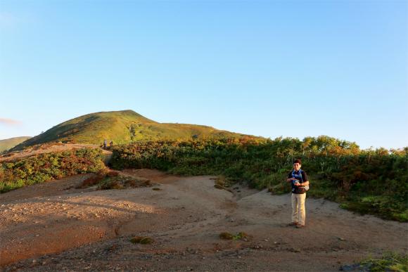 空身に近いスタイルで飯豊山・大日岳登山