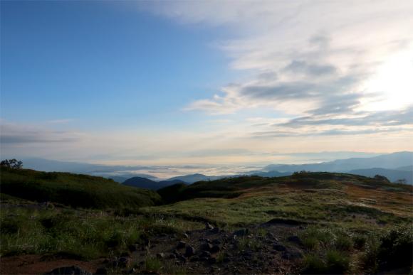 飯豊山の登山ルートの雰囲気