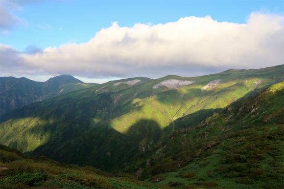 大日岳方面嫌な雲