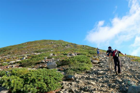 登っても登っても山頂に到着できない登山の時間