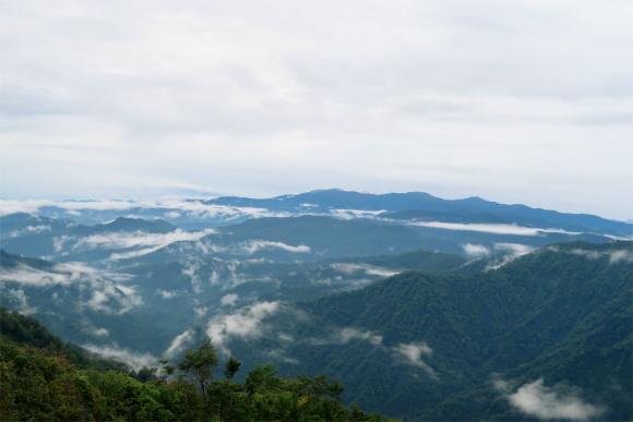 磐梯山方面