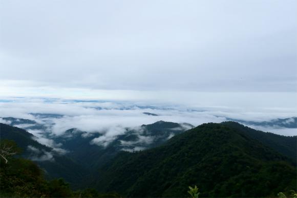 地蔵岳周辺からの雲海