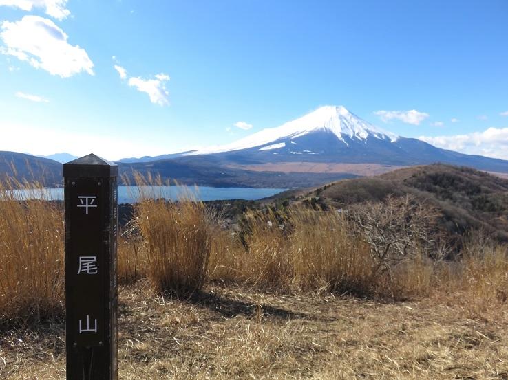 平尾山の山頂
