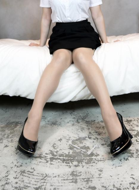 筋肉と脂肪の関係女性の足