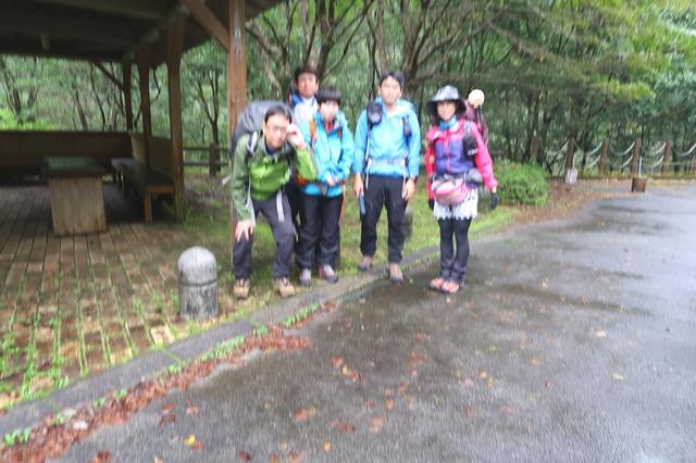 大杉谷渓谷登山参加者