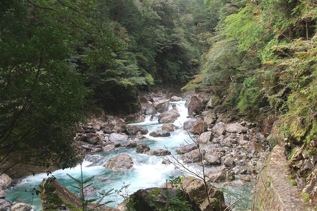 七ツ釜滝までのルート