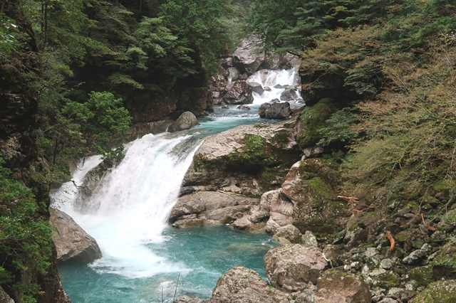 大杉谷ルート見事な滝
