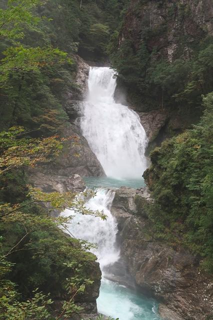 七ツ釜滝を見れて感動