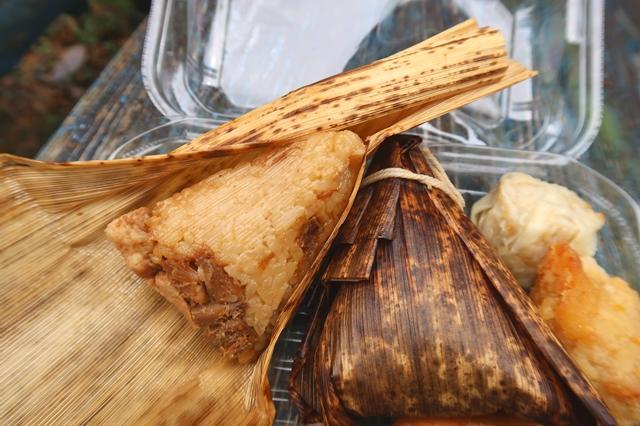 桃ノ木山の家の名物の1つである中華ちまき弁当