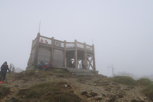 大台ヶ原の山頂展望台