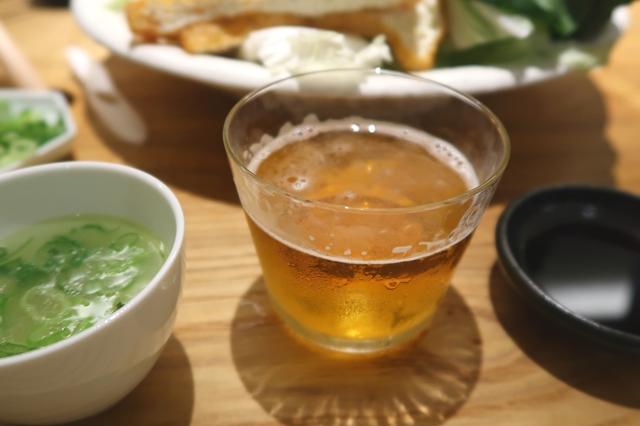 八向のビール