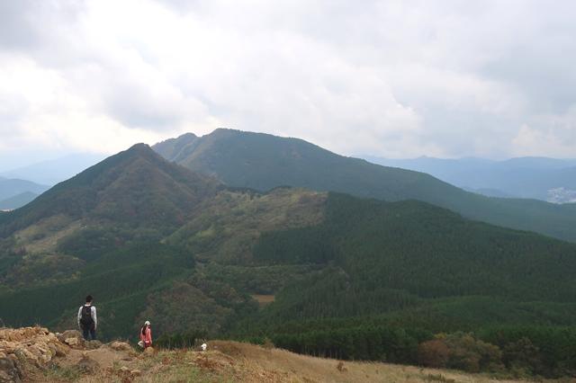 亀山山頂後古光山・古光山景色