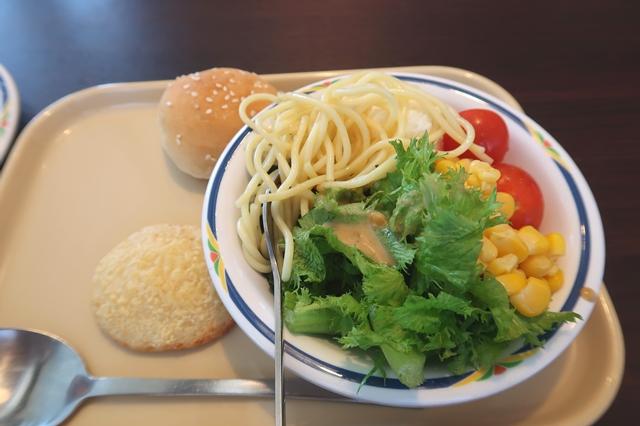 健康サラダバーセット食べた内容