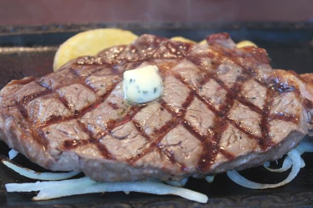 特選リブロースステーキガーリックバター