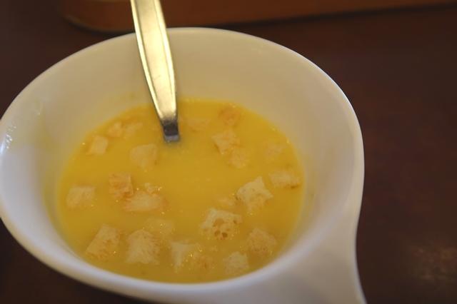 ビッグボーイのコーンスープ
