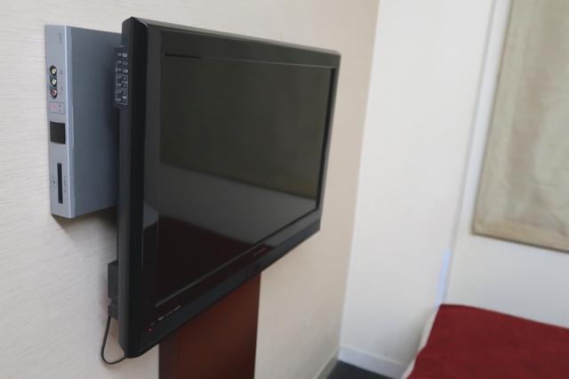 ホテルの部屋設備TV