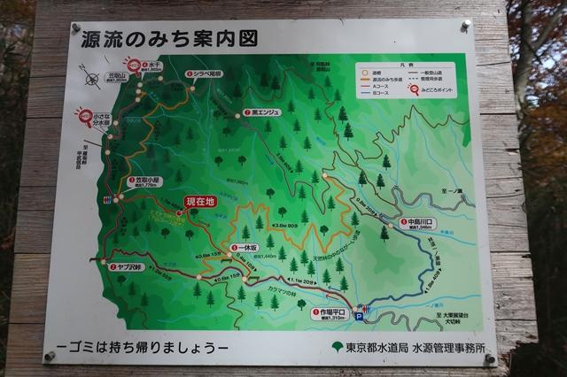 一休坂と笠取小屋の中間地点