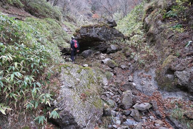多摩川の源流最初の一滴