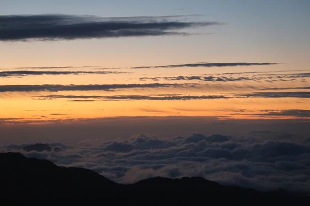 日の出・雲海の世界