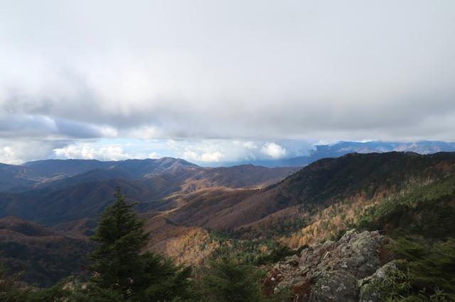 西御殿岩からの景色