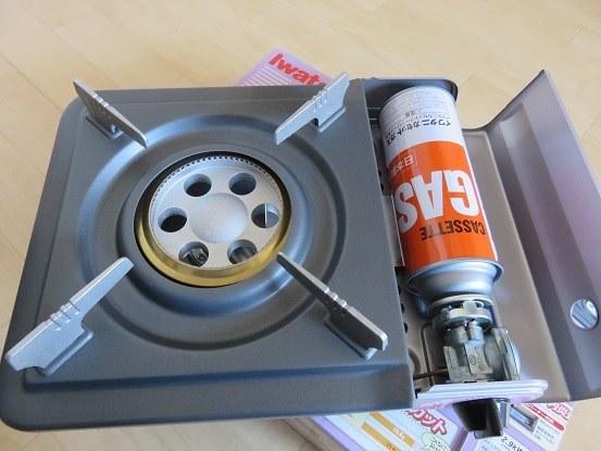 卓上カセットコンロの燃料CB缶